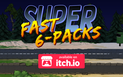 Super Fast 6-Packs is available now on itch.io!